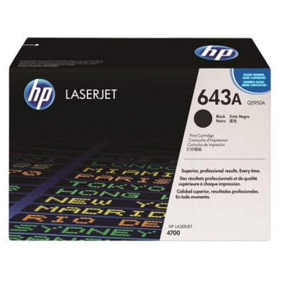 HP Cartridge No.643A Black (Q5950A) B Grade