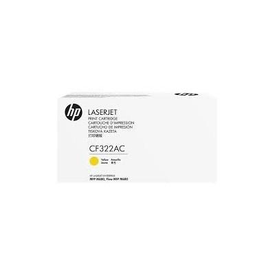 HP CONTRACT Cartridge No.653A Yellow (CF322AC) B Grade