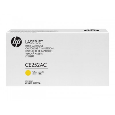 HP CONTRACT Cartridge No.504A Yellow (CE252AC)