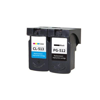 Tindikomplekt PG-512 / CL-513 4-värvi, analoog