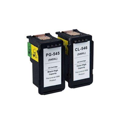 Tindikomplekt Canon PG-545XL / CL-546XL 4-värvi, analoog