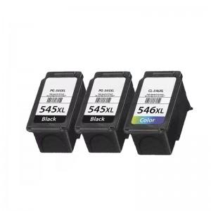 Tindikomplekt Canon PG-545XL / CL-545XL + 1 Must, analoog