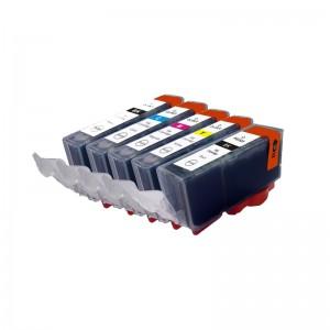 Tindikomplekt Canon CLI-521 CMYKK 5-värvi, analoog