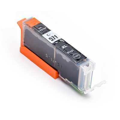 Tint Canon CLI-571BK XL Must, analoog