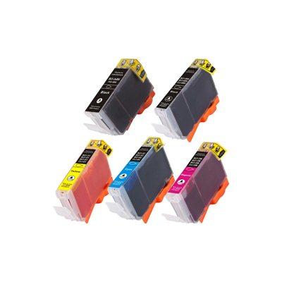 Tint Canon CLI-8 CMYK + PGI-5BK, analoog