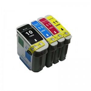 Комплект чернил HP 10+11 4-цвета, аналог