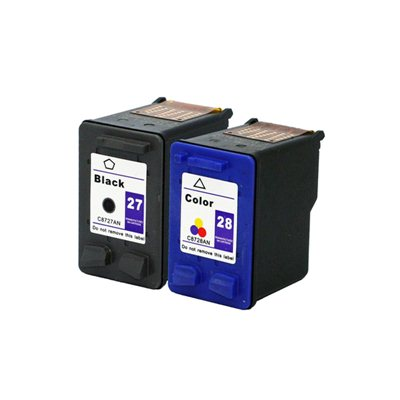 Комплект чернил HP 27+28 4-цвета, аналог