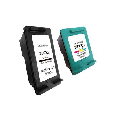Комплект чернил HP 350XL + 351XL 4-цвета, аналог