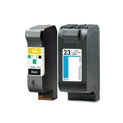 Tindikomplekt HP 45 + 23 TriColor 4-värvi, analoog