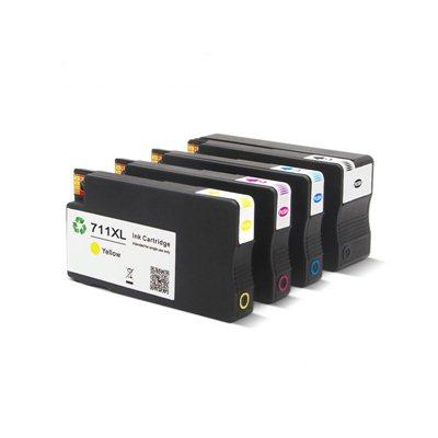 Tindikomplekt HP 711 4-värvi, analoog