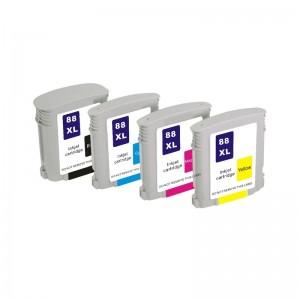 Tindikomplekt HP 88XL 4-värvi, analoog