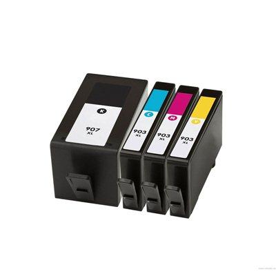 Комплект чернил HP 907XL + 903XL 4-цвета, аналог