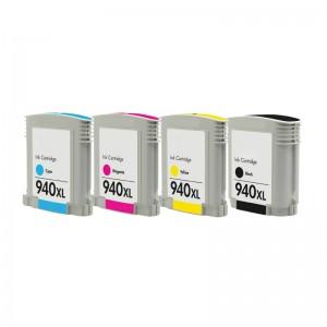 Tindikomplekt HP 940XL 4-värvi, analoog