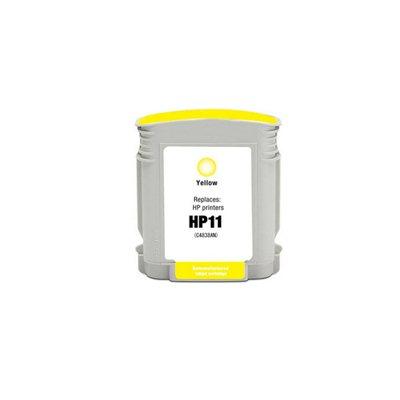 Чернила HP 11 Жёлтый, аналог