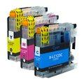 Tindikomplekt Brother LC123 3-värvi, analoog