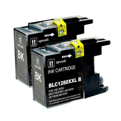 Tindikomplekt LC1280BK XXL 2tk Must, analoog