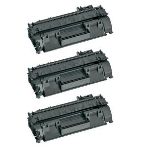 Картридж HP 05A / CE505A, Комплект 3 шт, совместимый