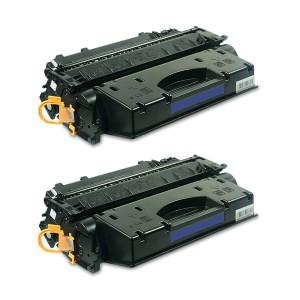 Картридж HP 05X / CE505X Комплект 2 шт, совместимый
