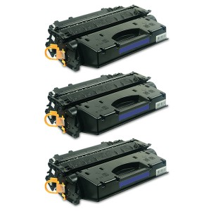 Картридж HP 05X / CE505X Комплект 3 шт, совместимый