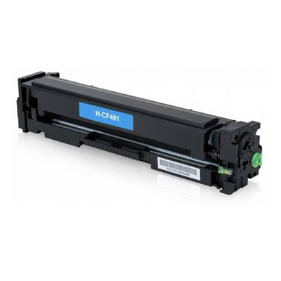 Картридж HP 201X / CF401X Синий, совместимый