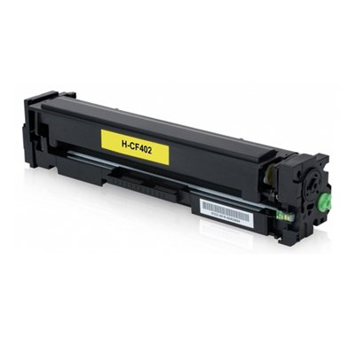 Tooner HP 201X / CF402X Kollane, analoog