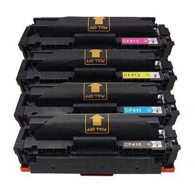 Tooner HP 410X / CF410X Komplekt, analoog
