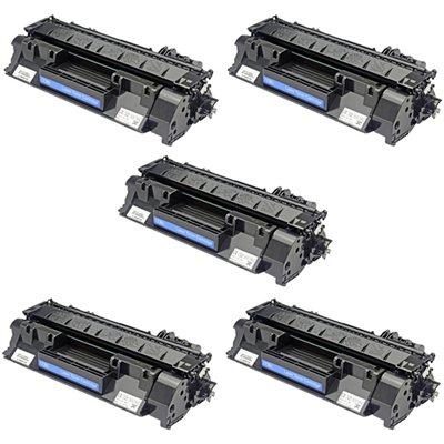 Tooner HP 80X / CF280X Komplekt 5 tk, analoog