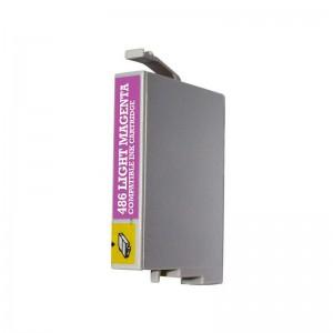 Чернила Epson T0486 Розовый, аналог