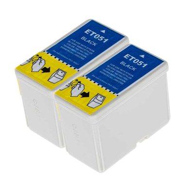 Tindikomplekt Epson T0511 2tk Must, analoog