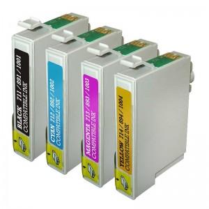 Tindikomplekt Epson T0715 4-värvi, analoog