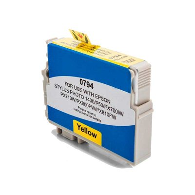 Чернила Epson T0794 Жёлтый, аналог