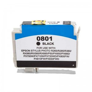 Tint Epson T0801 Must, analoog