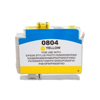 Tint Epson T0804 Kollane, analoog