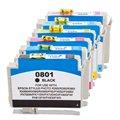 Tindikomplekt Epson T0807 6-värvi, analoog