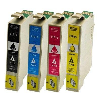 Tindikomplekt Epson T1816 XL 4-värvi, analoog