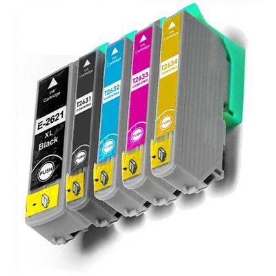 Tindikomplekt Epson T2635 XL 5-värvi, analoog