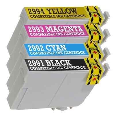 Комплект чернил T2996 XL 4-цвета, аналог