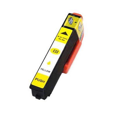 Чернила Epson T3344 Жёлтый, аналог