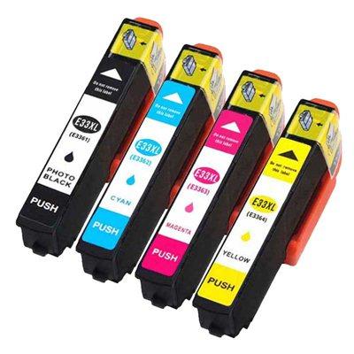 Tindikomplekt Epson T3366 XL 4-värvi, analoog
