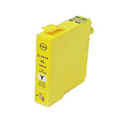 Tint Epson T3474 XL Kollane, analoog