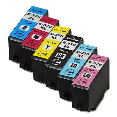 Tindikomplekt Epson T378XL 6-värvi, analoog