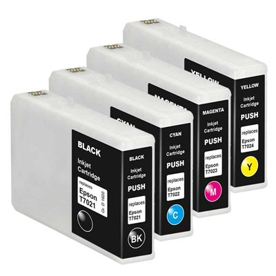 Tindikomplekt Epson T7025 XL 4-värvi, analoog