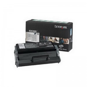 Tooner Lexmark 12A7405, 6000 lehte, must