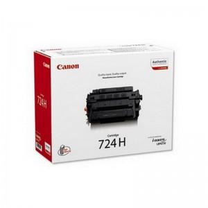 Tooner Canon CRG-724H, 12500 lehte, must