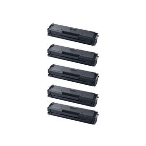 Tooner Samsung MLT-D101S / 2160 / 2165 / 3400 Komplekt 5 tk, analoog