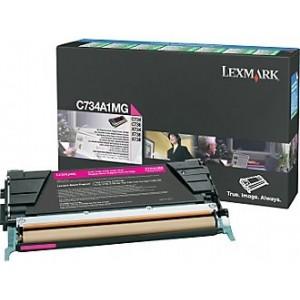 Lexmark Cartridge Magenta (C734A1MG) Return B Grade