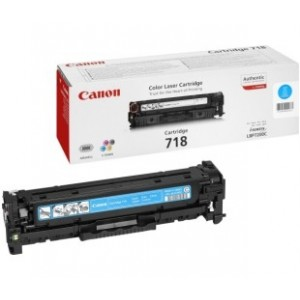 Canon CONTRACT Cartridge 718 Cyan (2661B014) (2661B011)