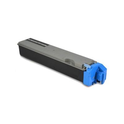 Картридж Kyocera TK 510C / TK-510C Синий, совместимый