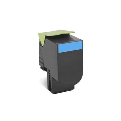 Картридж Lexmark 802SC Синий, совместимый