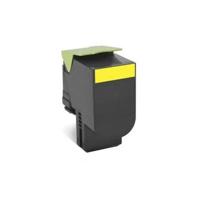 Картридж Lexmark 802SY Желтый, совместимый
